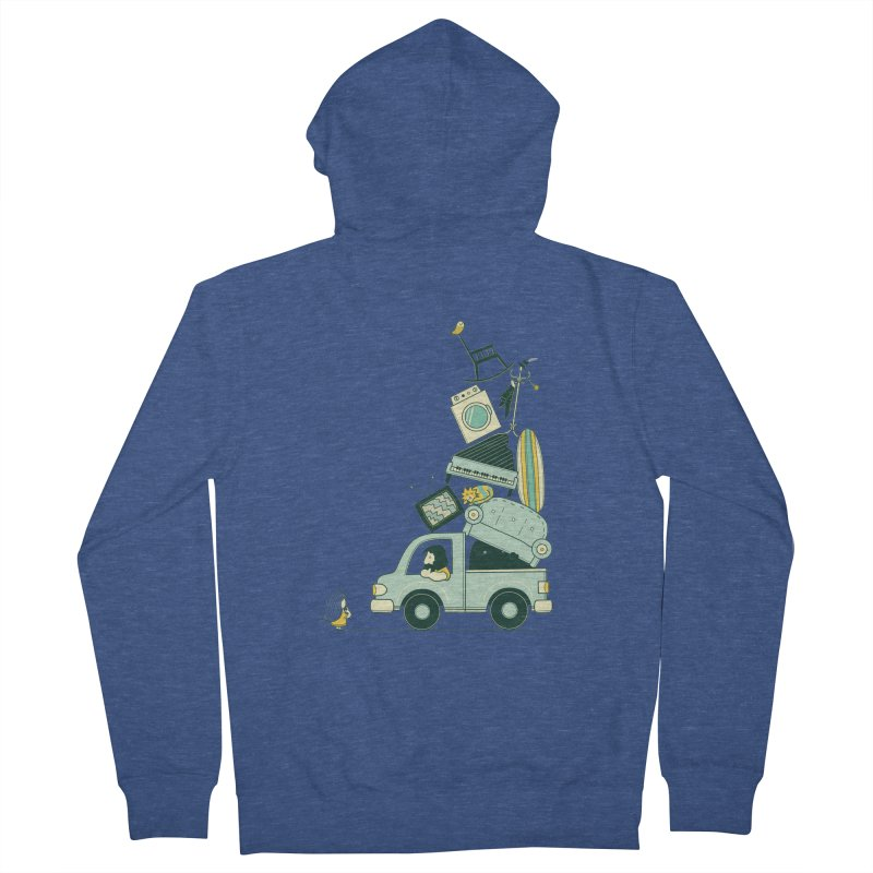 There's still room at the top Men's French Terry Zip-Up Hoody by agrimony // Aaron Thong