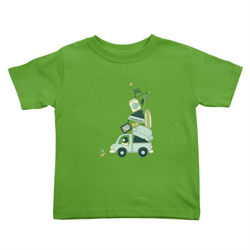 There's still room at the top Kids Toddler T-Shirt by agrimony // Aaron Thong