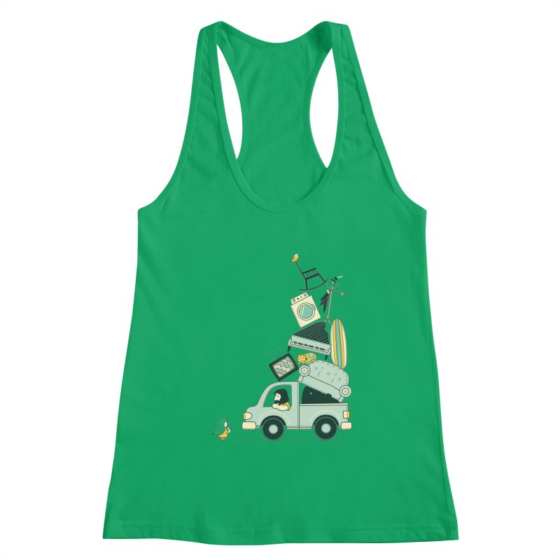 There's still room at the top Women's Tank by agrimony // Aaron Thong