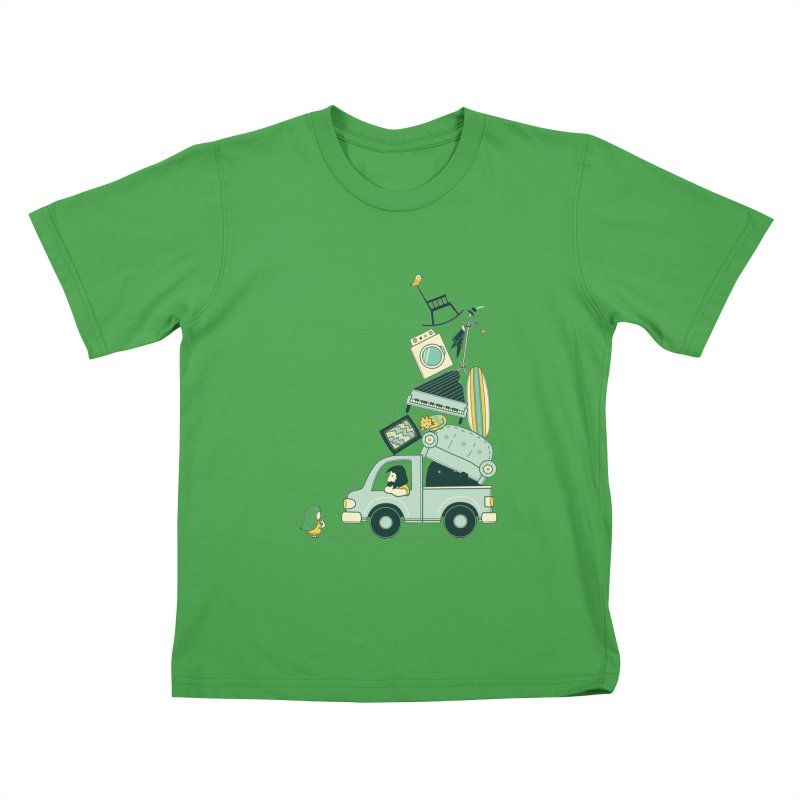 There's still room at the top Kids T-Shirt by agrimony // Aaron Thong