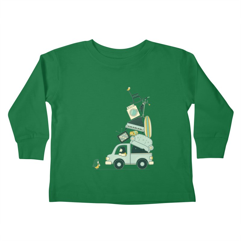 There's still room at the top Kids Toddler Longsleeve T-Shirt by agrimony // Aaron Thong