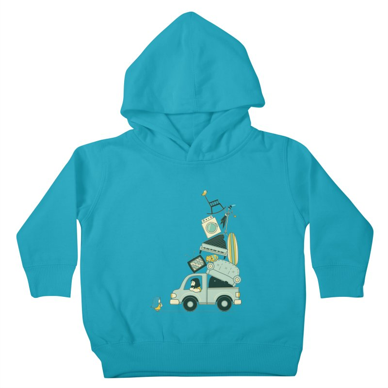 There's still room at the top Kids Toddler Pullover Hoody by agrimony // Aaron Thong