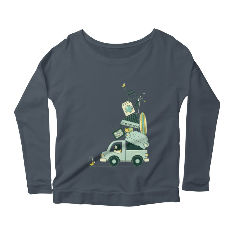 There's still room at the top Women's Longsleeve T-Shirt by agrimony // Aaron Thong