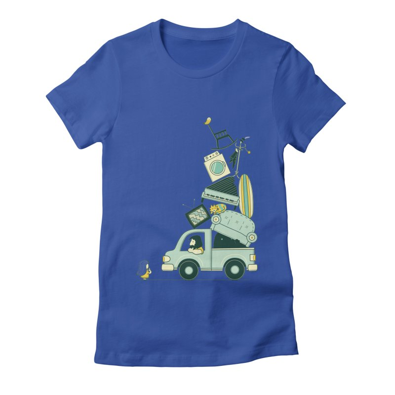 There's still room at the top Women's Fitted T-Shirt by agrimony // Aaron Thong