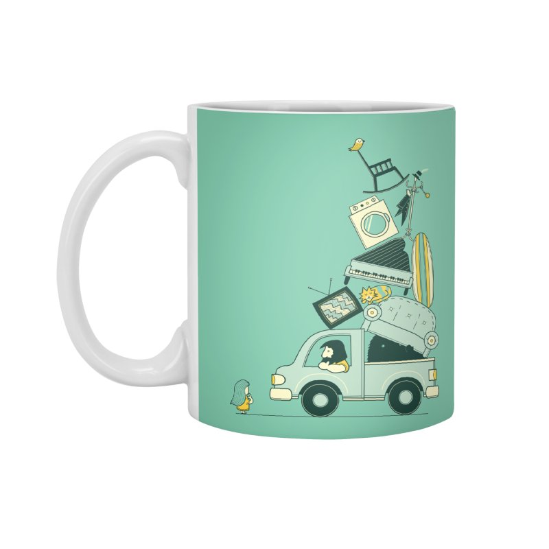 There's still room at the top Accessories Standard Mug by agrimony // Aaron Thong