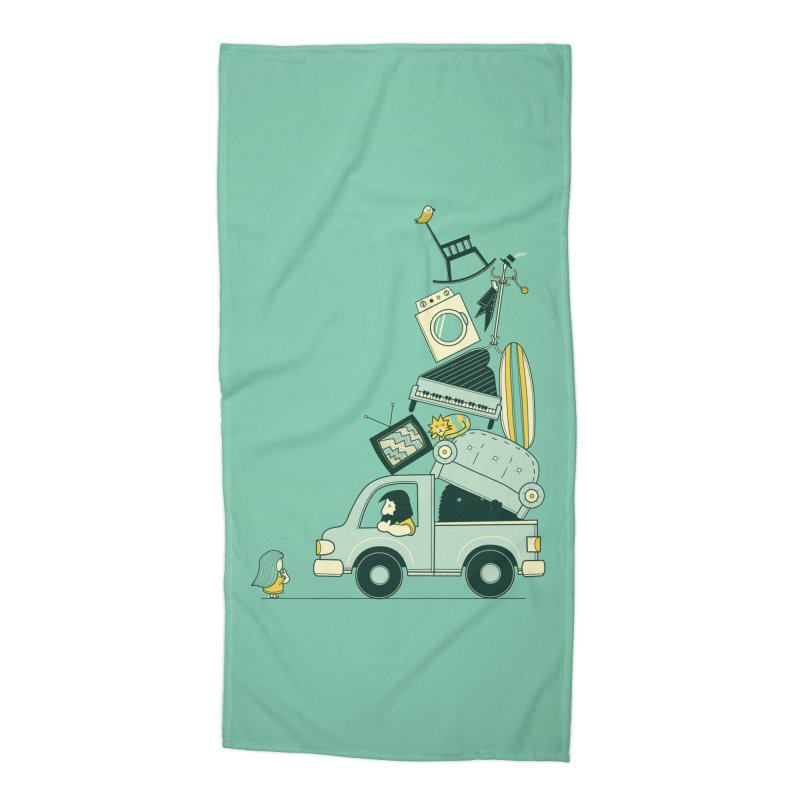 There's still room at the top Accessories Beach Towel by agrimony // Aaron Thong