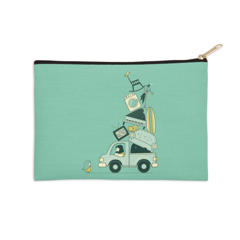There's still room at the top Accessories Zip Pouch by agrimony // Aaron Thong