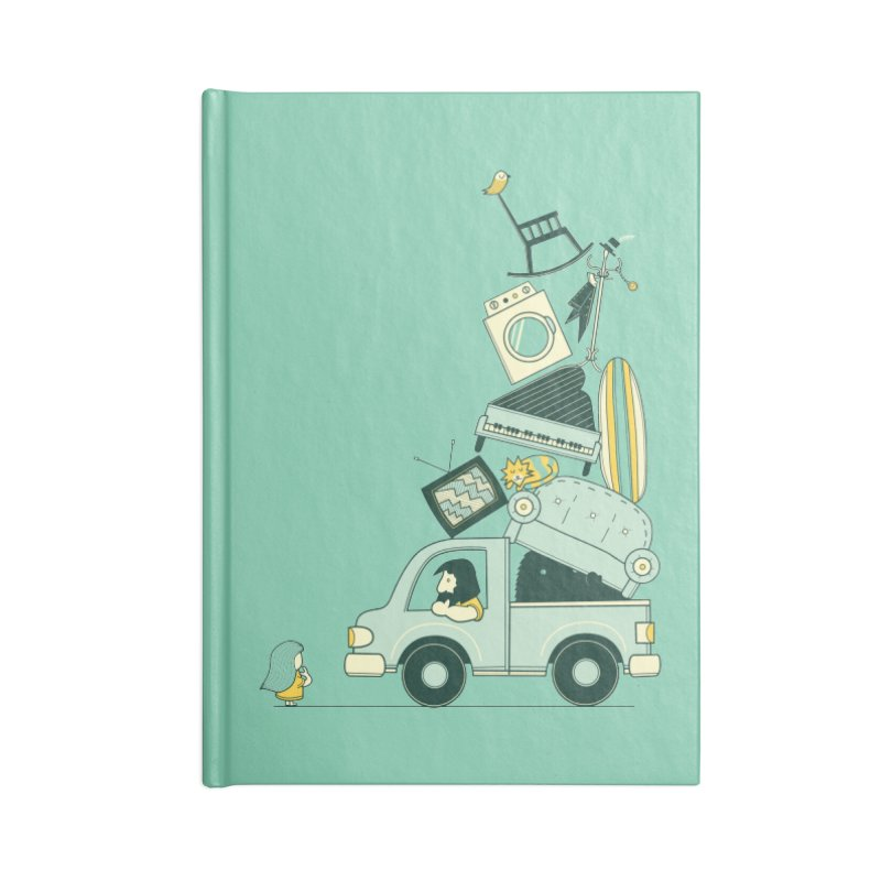 There's still room at the top Accessories Blank Journal Notebook by agrimony // Aaron Thong