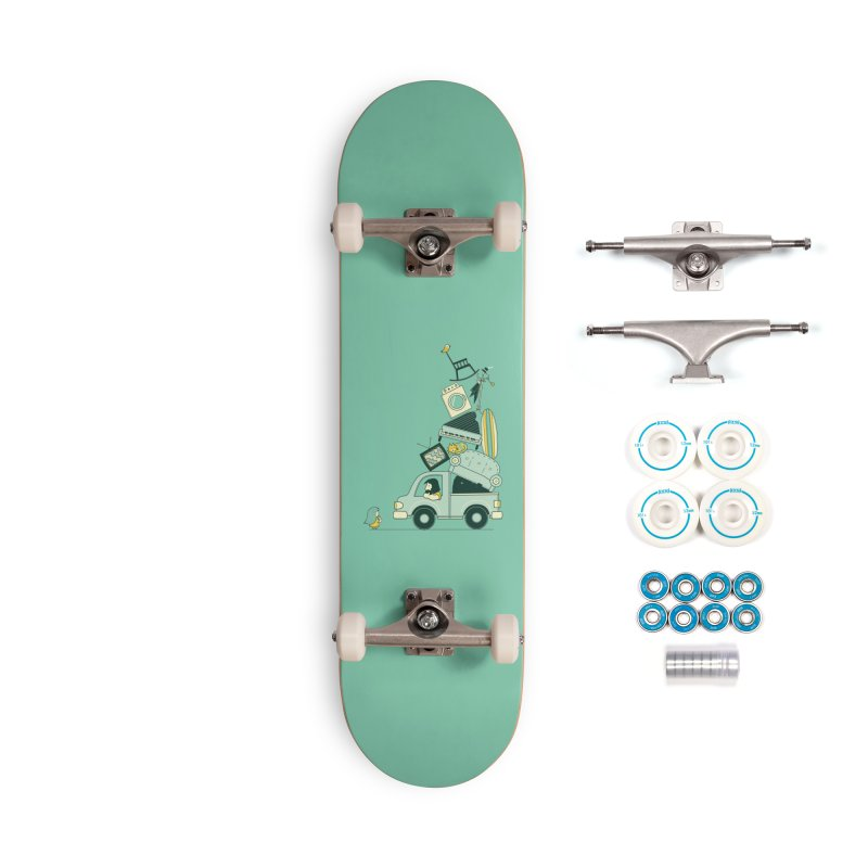 There's still room at the top Accessories Complete - Basic Skateboard by agrimony // Aaron Thong