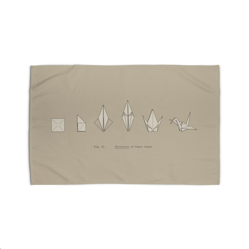 Evolution of Paper Crane Home Rug by agrimony // Aaron Thong