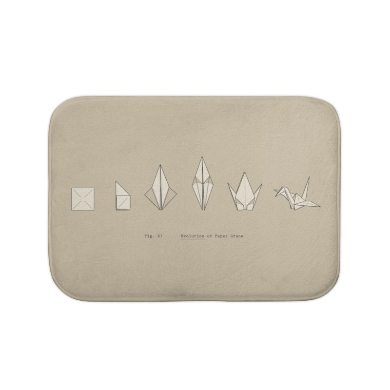 Evolution of Paper Crane Home Bath Mat by agrimony // Aaron Thong