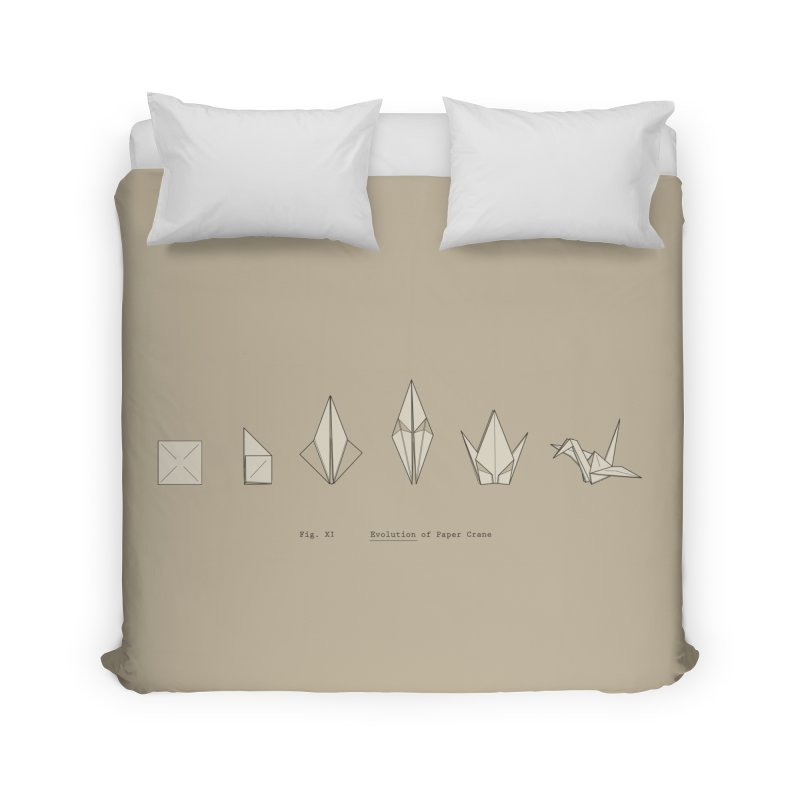 Evolution of Paper Crane Home Duvet by agrimony // Aaron Thong
