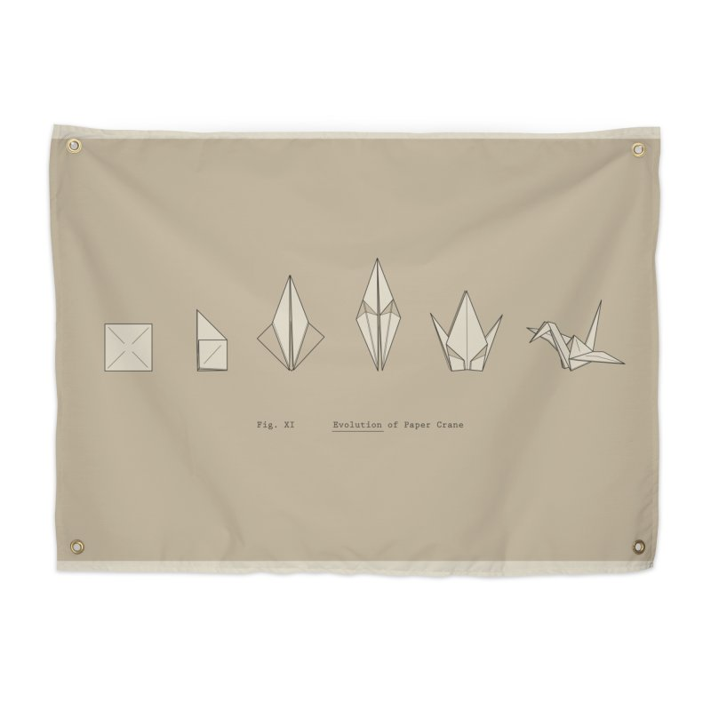 Evolution of Paper Crane Home Tapestry by agrimony // Aaron Thong