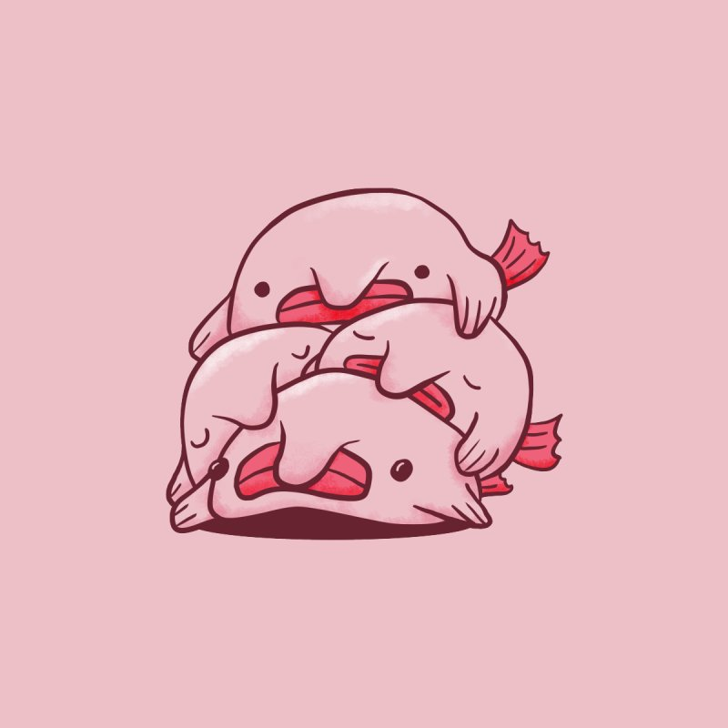 A cuddle of blobfish by agrimony // Aaron Thong