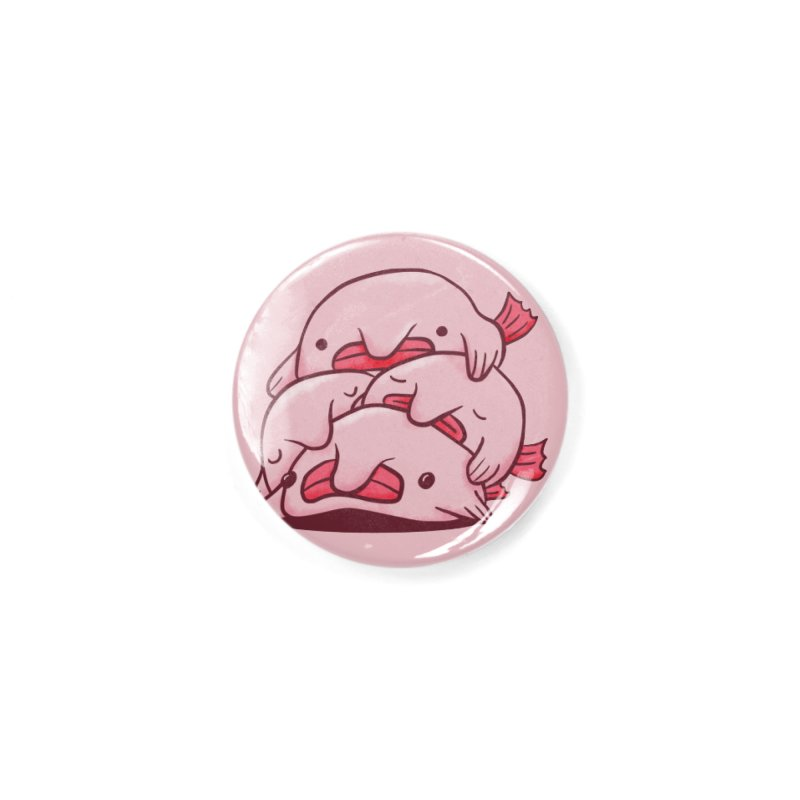 A cuddle of blobfish Accessories Button by agrimony // Aaron Thong