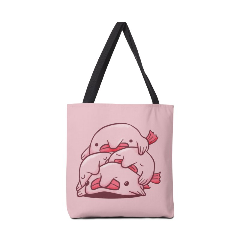 A cuddle of blobfish Accessories Tote Bag Bag by agrimony // Aaron Thong