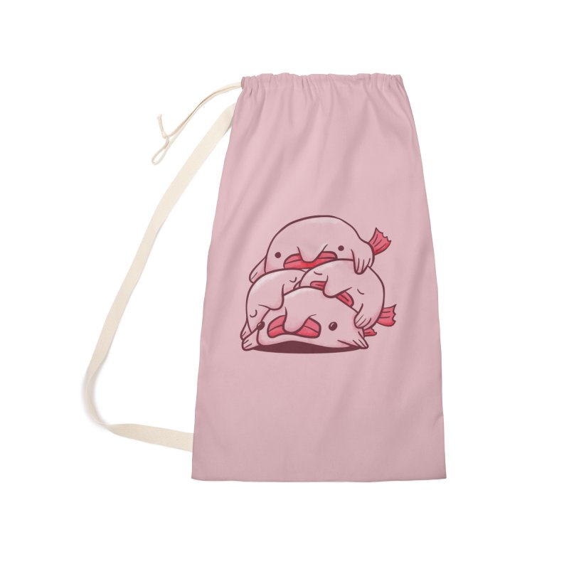 A cuddle of blobfish Accessories Laundry Bag Bag by agrimony // Aaron Thong