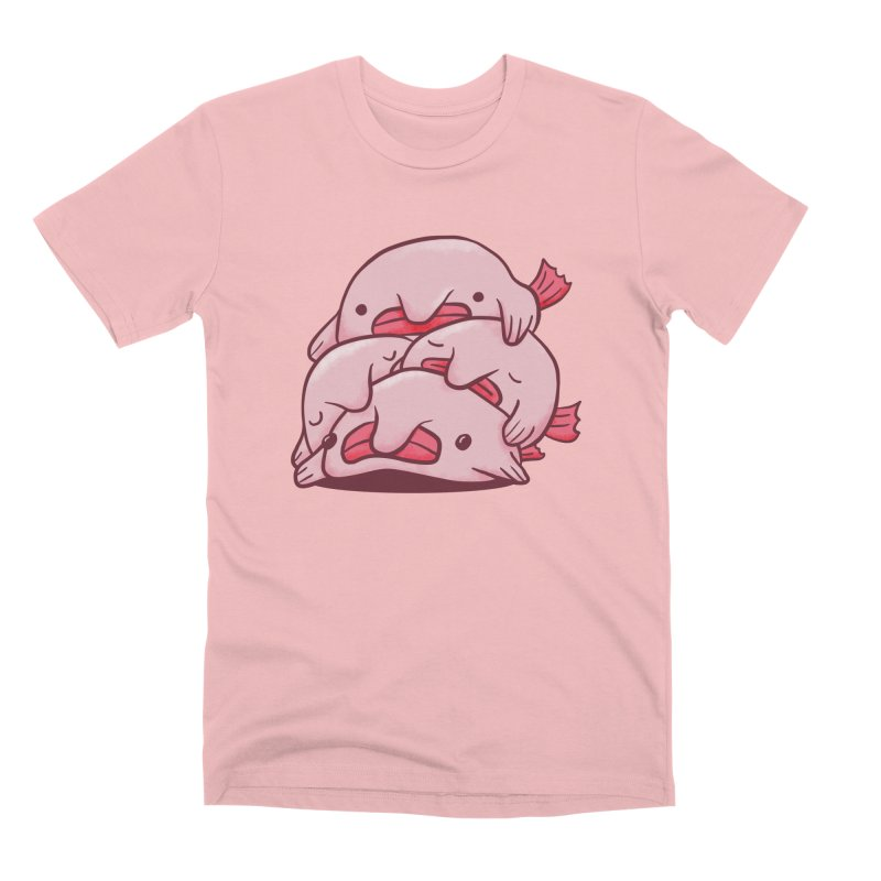 A cuddle of blobfish Men's Premium T-Shirt by agrimony // Aaron Thong
