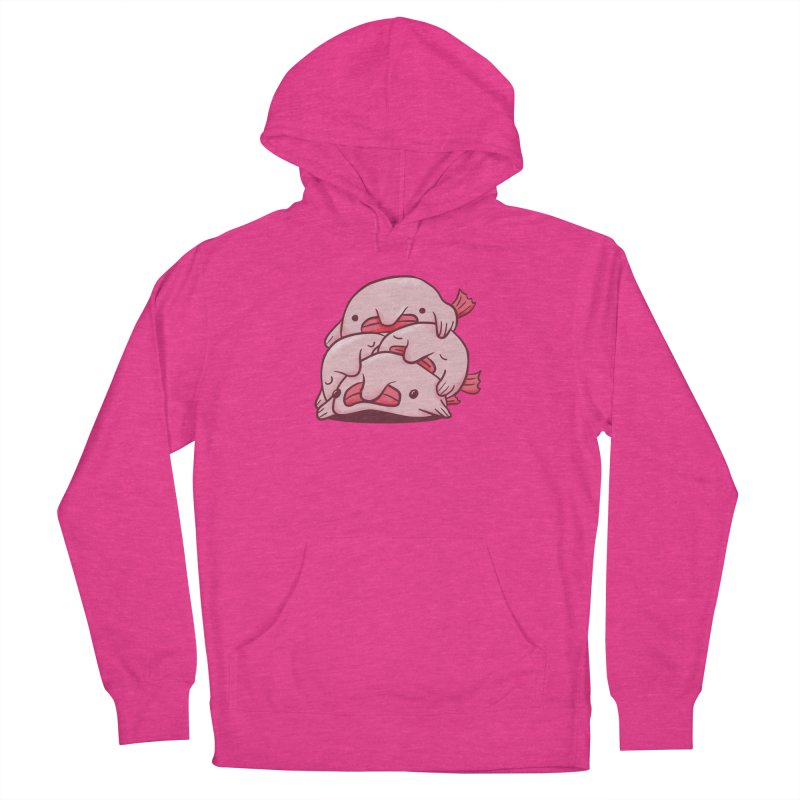 A cuddle of blobfish Men's French Terry Pullover Hoody by agrimony // Aaron Thong