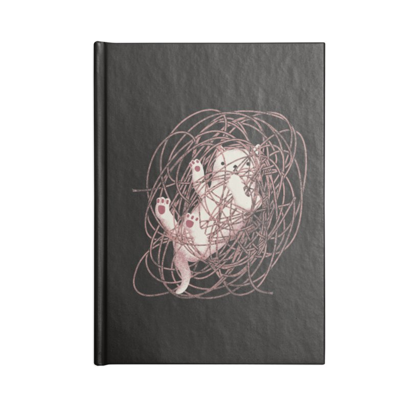 Catastrophe! Accessories Lined Journal Notebook by agrimony // Aaron Thong