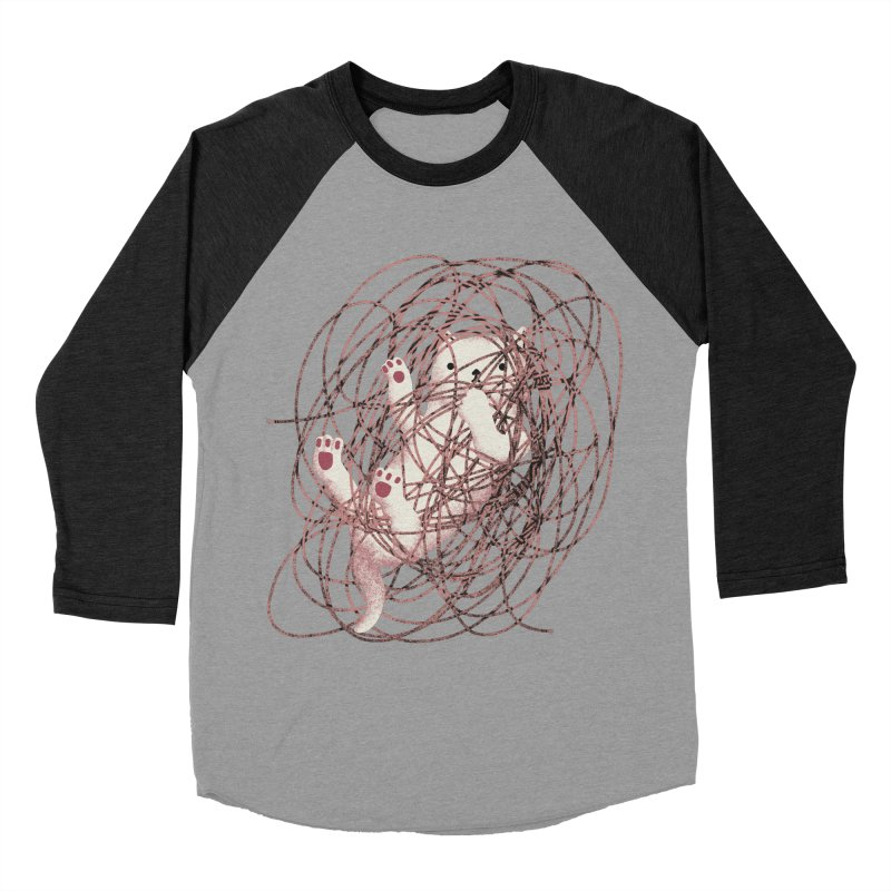 Catastrophe! Women's Baseball Triblend Longsleeve T-Shirt by agrimony // Aaron Thong