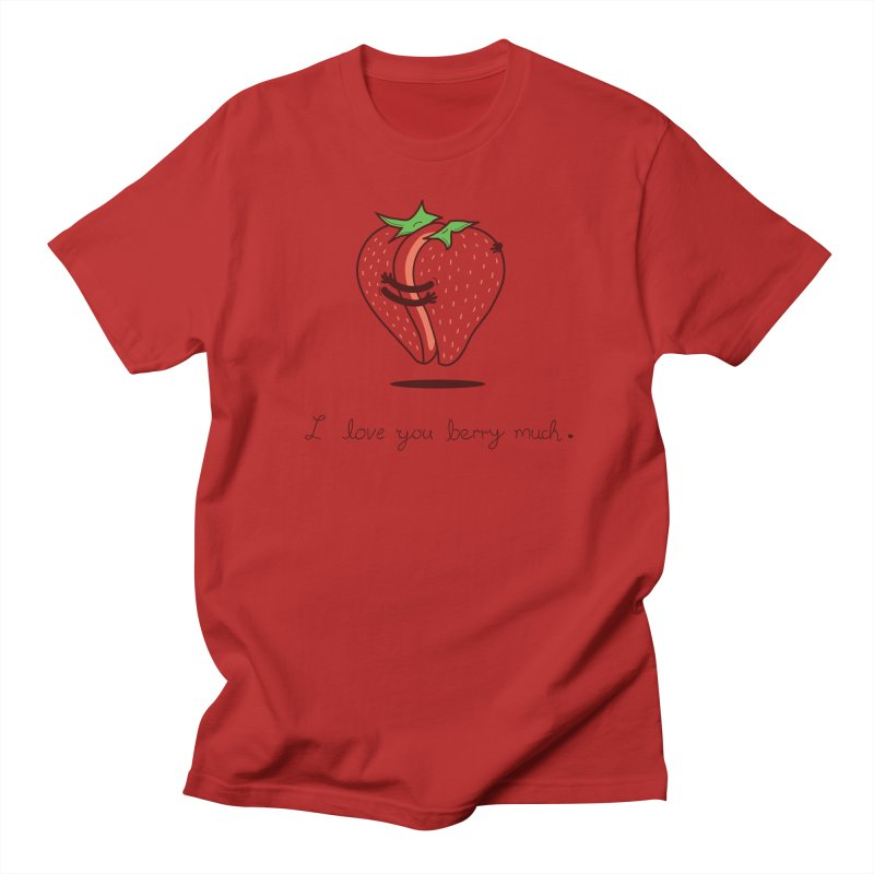 My Strawberry Half Women's Unisex T-Shirt by agrimony // Aaron Thong