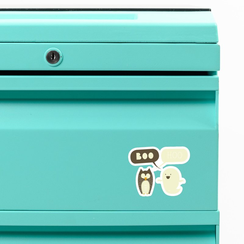 Boo Hoo Accessories Magnet by agrimony // Aaron Thong