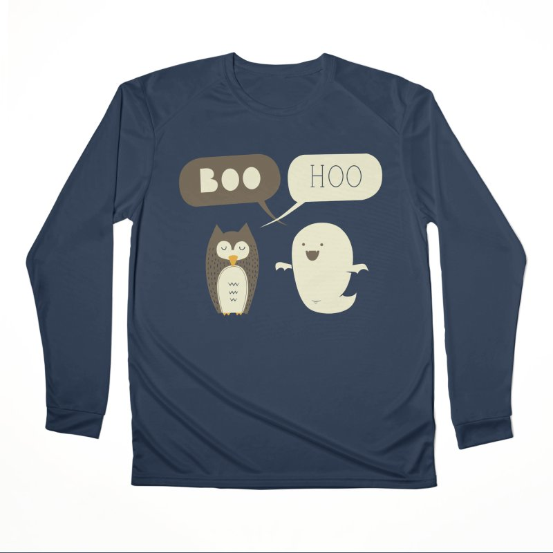 Boo Hoo Men's Performance Longsleeve T-Shirt by agrimony // Aaron Thong