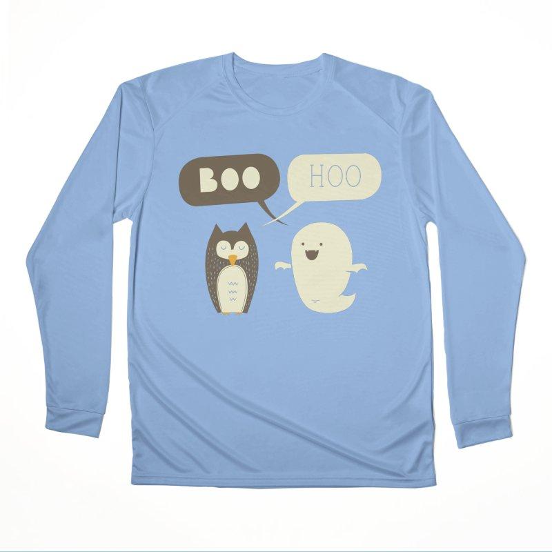 Boo Hoo Women's Performance Unisex Longsleeve T-Shirt by agrimony // Aaron Thong