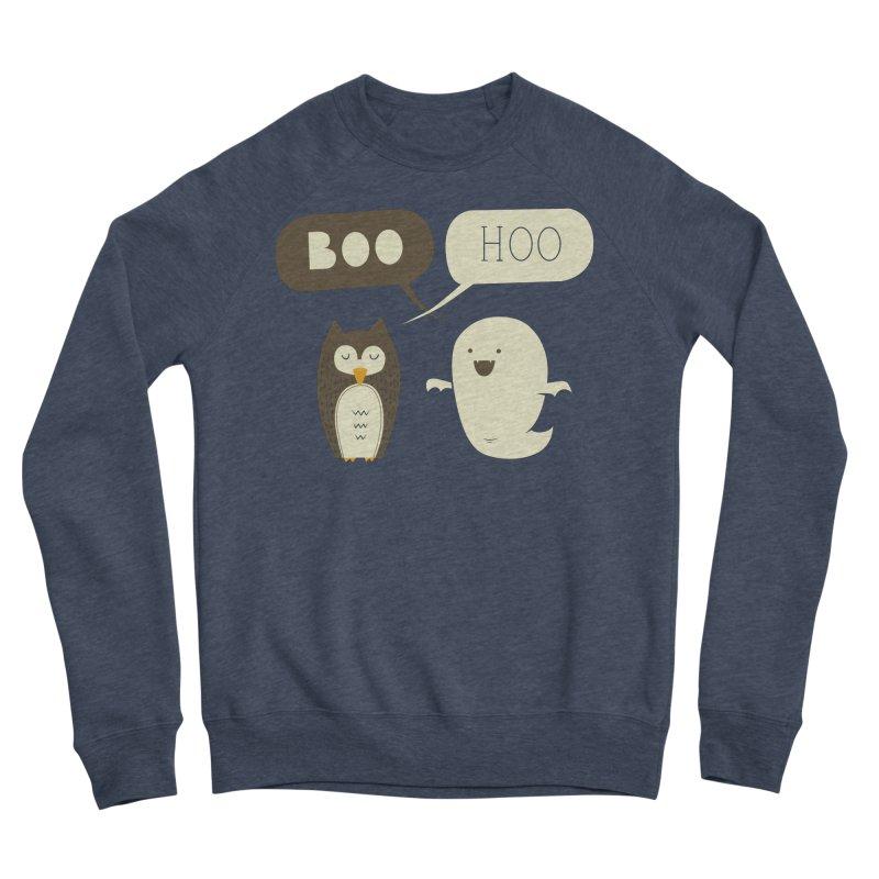 Boo Hoo Men's Sponge Fleece Sweatshirt by agrimony // Aaron Thong