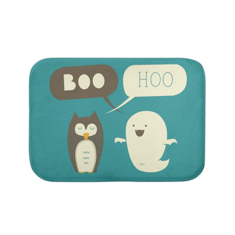 Boo Hoo Home Bath Mat by agrimony // Aaron Thong