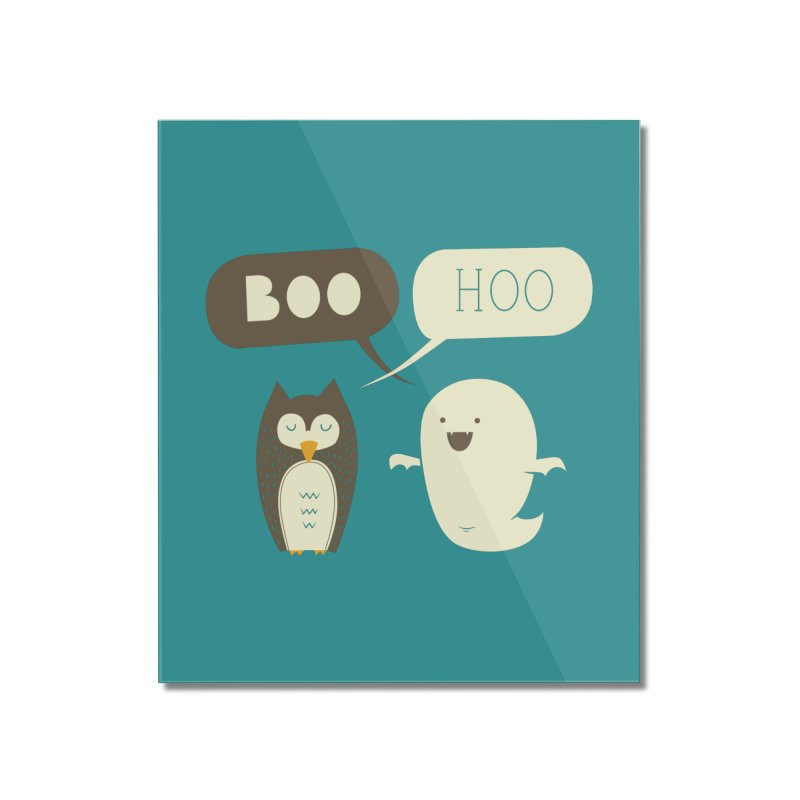 Boo Hoo Home Mounted Acrylic Print by agrimony // Aaron Thong