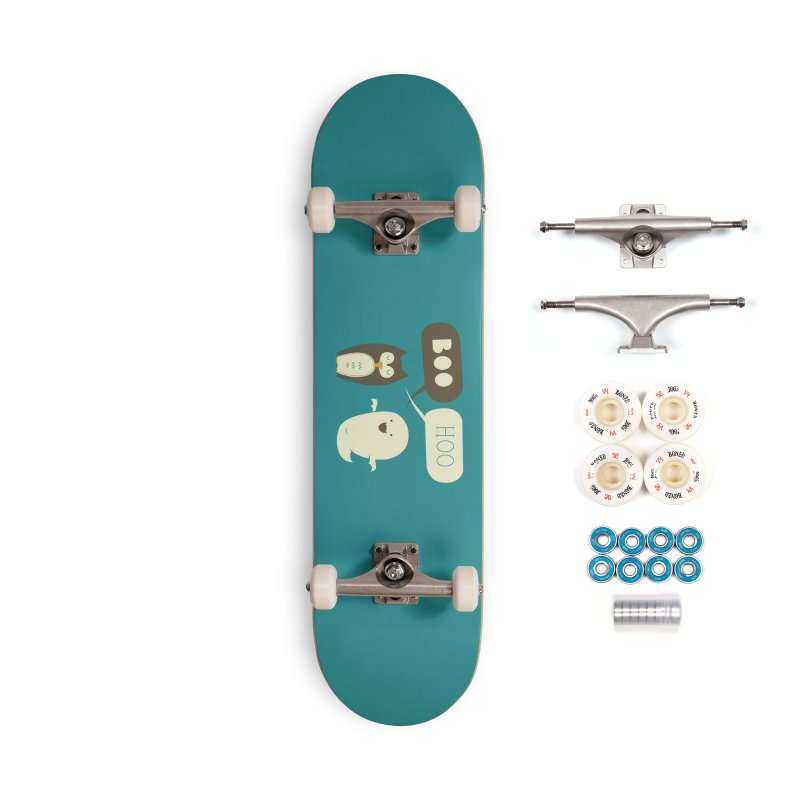 Boo Hoo Accessories Complete - Premium Skateboard by agrimony // Aaron Thong