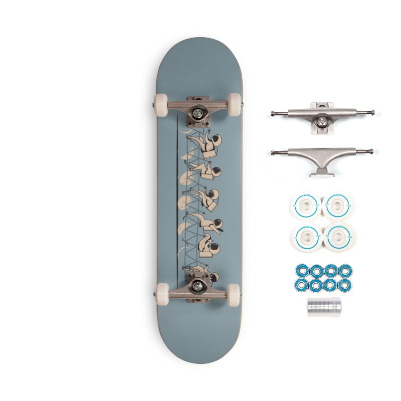 The Great Lunar Cycle Accessories Complete - Basic Skateboard by agrimony // Aaron Thong