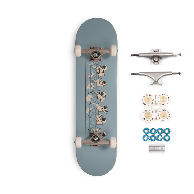 The Great Lunar Cycle Accessories Complete - Premium Skateboard by agrimony // Aaron Thong