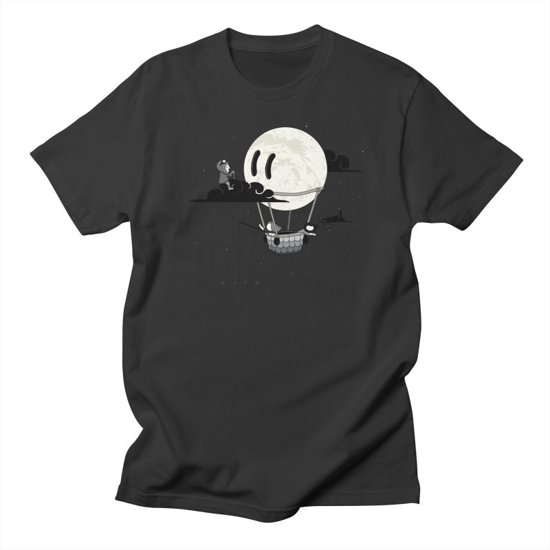 Did You See the Moon in Flight? Women's Unisex T-Shirt by agrimony // Aaron Thong