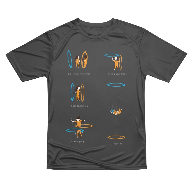 Lesser Known Uses Women's Performance Unisex T-Shirt by agrimony // Aaron Thong