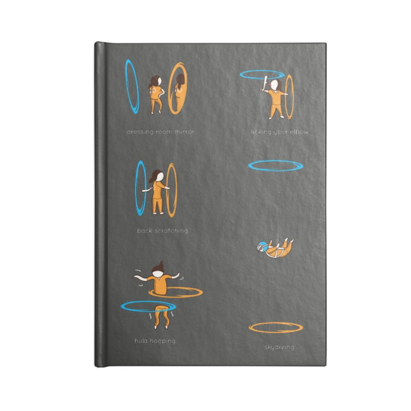 Lesser Known Uses Accessories Blank Journal Notebook by agrimony // Aaron Thong