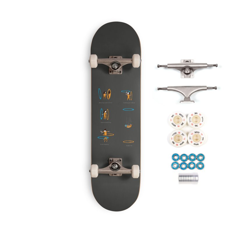 Lesser Known Uses Accessories Complete - Premium Skateboard by agrimony // Aaron Thong