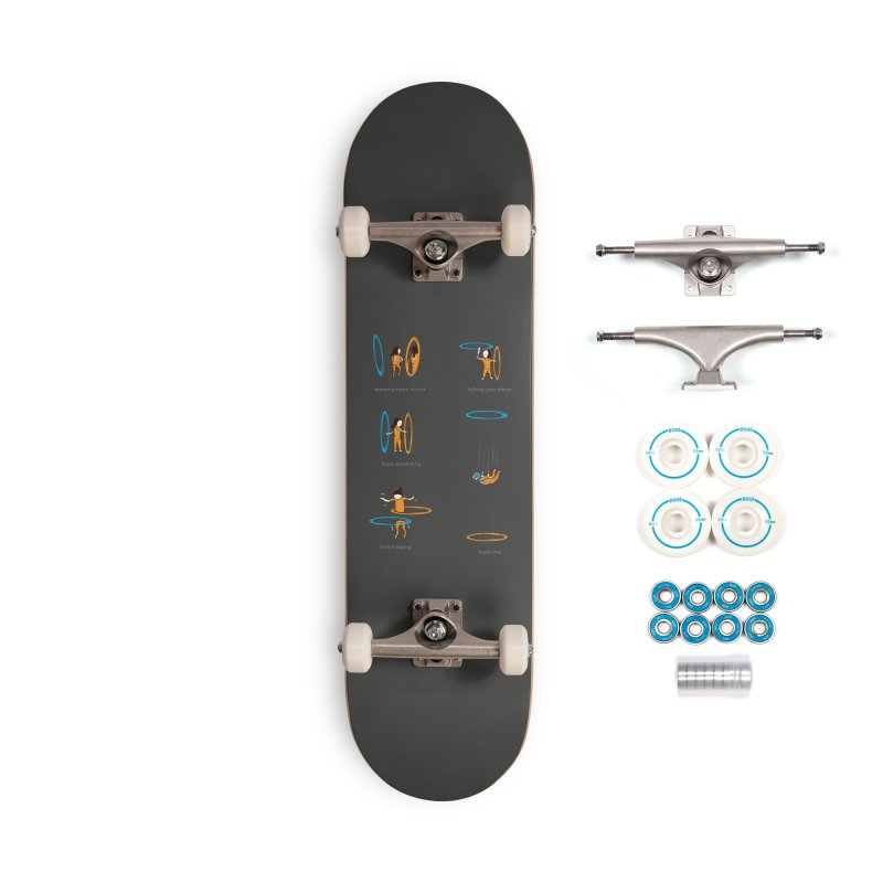Lesser Known Uses Accessories Complete - Basic Skateboard by agrimony // Aaron Thong