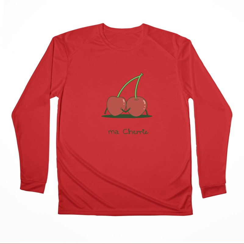 Ma Cherrie Women's Performance Unisex Longsleeve T-Shirt by agrimony // Aaron Thong