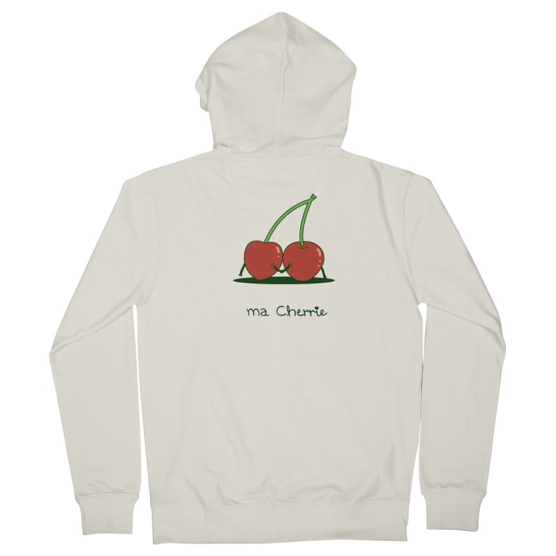 Ma Cherrie Men's French Terry Zip-Up Hoody by agrimony // Aaron Thong