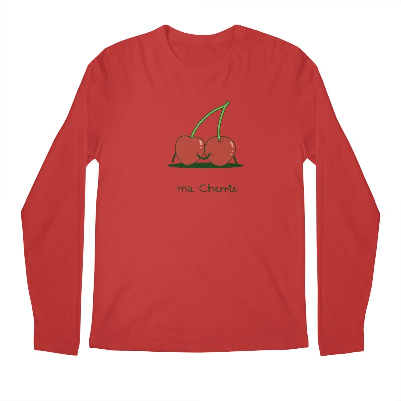 Ma Cherrie Men's Regular Longsleeve T-Shirt by agrimony // Aaron Thong