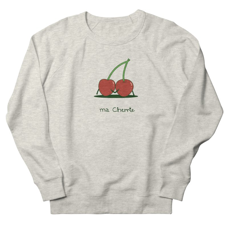 Ma Cherrie Women's French Terry Sweatshirt by agrimony // Aaron Thong