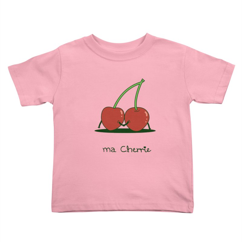 Ma Cherrie Kids Toddler T-Shirt by agrimony // Aaron Thong