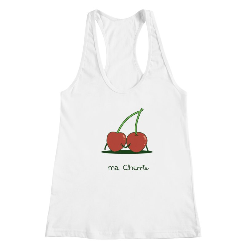 Ma Cherrie Women's Racerback Tank by agrimony // Aaron Thong