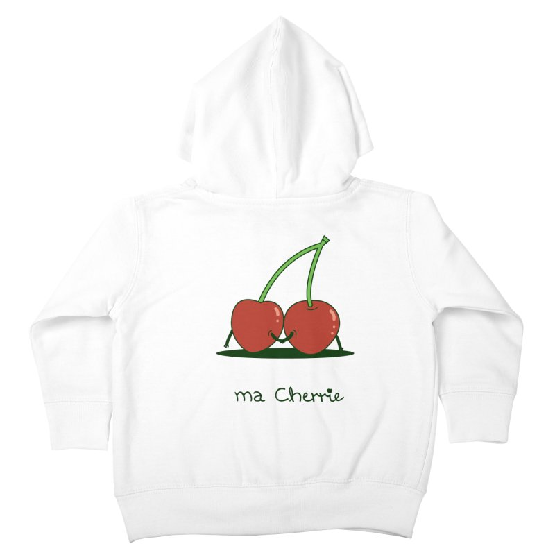 Ma Cherrie Kids Toddler Zip-Up Hoody by agrimony // Aaron Thong