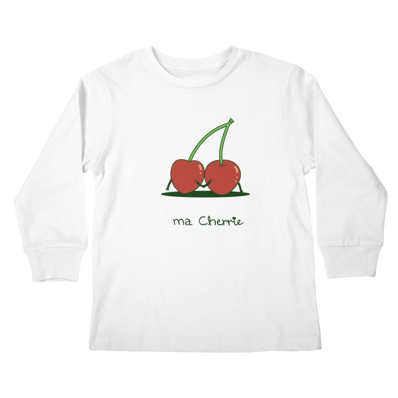 Ma Cherrie Kids Longsleeve T-Shirt by agrimony // Aaron Thong