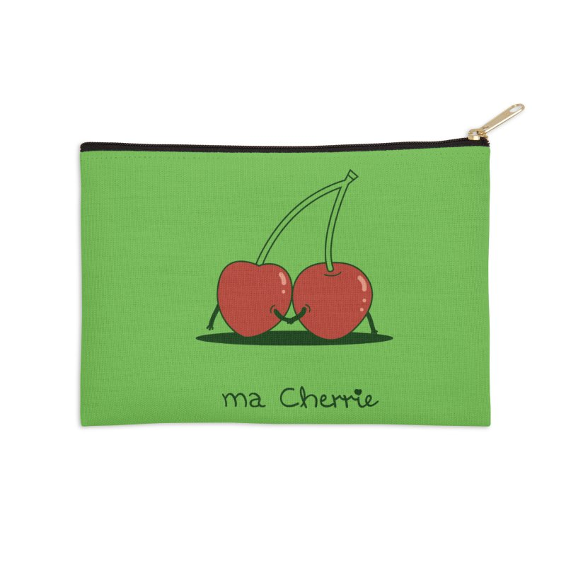 Ma Cherrie Accessories Zip Pouch by agrimony // Aaron Thong
