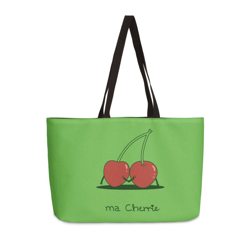 Ma Cherrie Accessories Weekender Bag Bag by agrimony // Aaron Thong